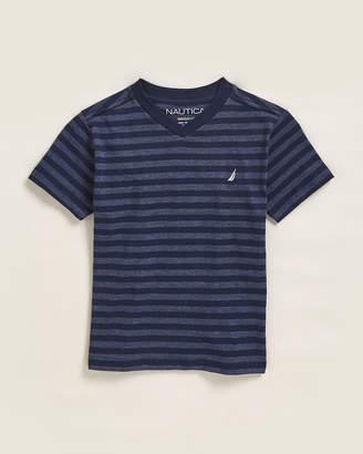 Nautica Boys 4-7) Finn Stripe Short Sleeve Tee
