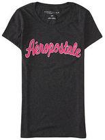 Aeropostale Womens Aropostale Logo Graphic T Shirt