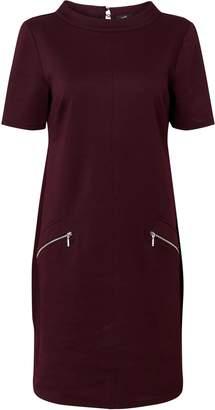 Wallis Berry High Neck Shift Dress