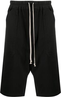 Rick Owens Drop Crotch Shorts