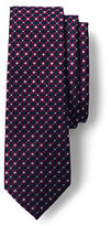 Classic Men's Silk Macclesfield Necktie-Burgundy University Stripe