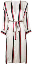 Asceno bold striped robe