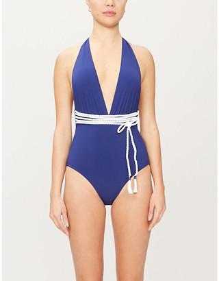 Emma Pake Lucia halterneck swimsuit