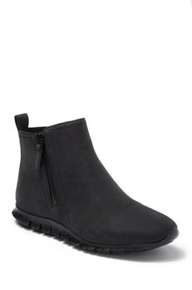 Cole Haan Zerogrand Side Zip Waterproof Leather Bootie