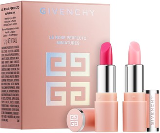 Givenchy Le Rose Perfecto Mini Lip Balm Duo