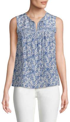 Rebecca Taylor Aimee Silk Floral Top