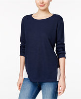 Style&Co. Style & Co Mixed-Media Top, Only at Macy's