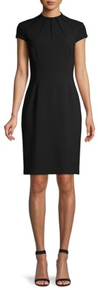 Elie Tahari Freida Pintuck Suit Dress