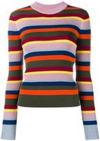 House of Holland striped knit jumper