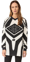 Rag & Bone Optical Moto Print Tunic