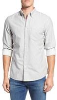 Nordstrom Men's Trim Fit Brushed Twill Sport Shirt