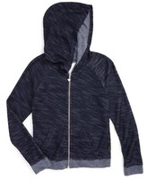 T2 Love Girl's Hooded Boucle Jacket