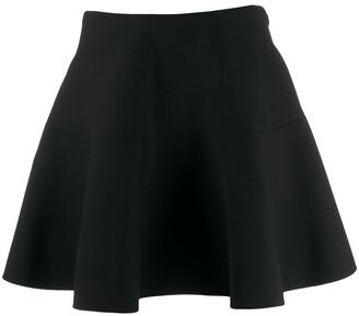Valentino flared A-line mini skirt