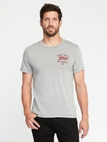 Old Navy Garment-Dyed Graphic Tee for Men