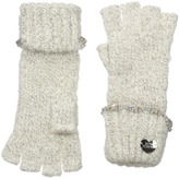 Betsey Johnson On the Rocks Half Finger Gloves