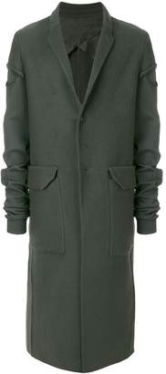 Rick Owens single-breasted coat