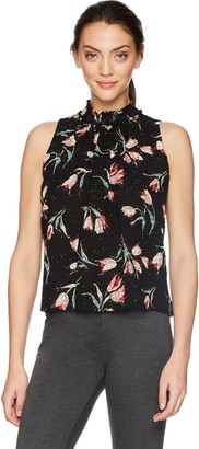 Rebecca Taylor Women's Sleeveless Ikat Smock Top