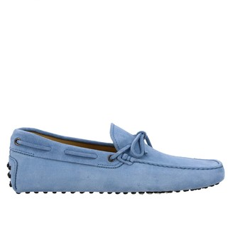 Tod's Tods Loafers Tods New Gommini Moccasin In Suede With Strap