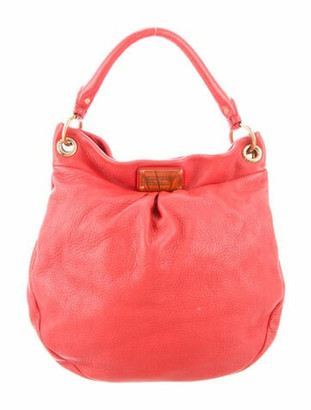 Marc by Marc Jacobs Classic Q Hillier Hobo Pink