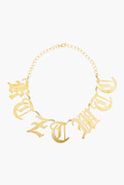 KTZ Gold Cut-Out Letter Necklace
