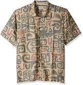 Quiksilver Men's Olowalu Comfort Fit Hawaiian Shirt