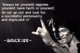 PURCHASE PUNCH Always be yourself...Bruce lee's Quotes Poster 12x18 inch