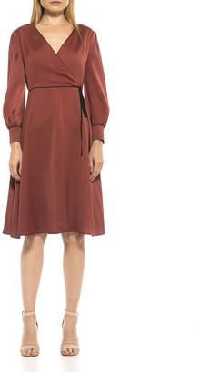 Alexia Admor Torri Faux Wrap Midi Dress
