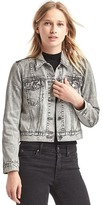 Gap Short icon denim patch jacket