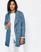 Vila Oversized Denim Jacket