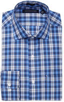 Tommy Hilfiger Plaid Regular Fit Dress Shirt