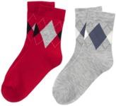 Crazy 8 Argyle Socks 2-Pack