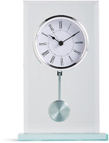 Marks and Spencer Bevel Glass Mantel Clock