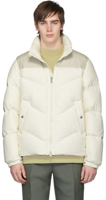 Woolrich White Down Logo Arctic Jacket