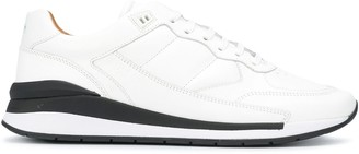 HUGO BOSS Stitched Trim Low-Top Sneakers