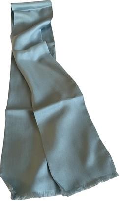 Margaret Howell Blue Silk Scarves