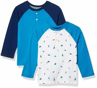 Amazon Essentials Long-Sleeve Henley T-Shirts