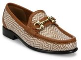 Salvatore Ferragamo Mason Leather Twist Loafers