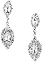 Cezanne Clip-On Rhinestone Earrings