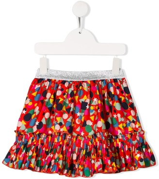 Stella McCartney Dots print skirt