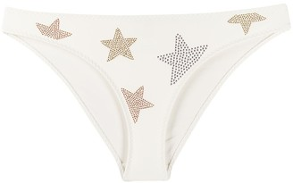 Stella McCartney Star-Embellished Bikini Bottoms