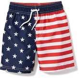 Old Navy Americana Swim Trunks for Toddler