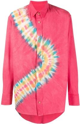 The Elder Statesman Tie-Dye Print Shirt