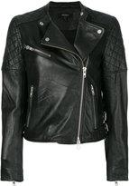 Muu Baa Muubaa quilted shoulder biker jacket