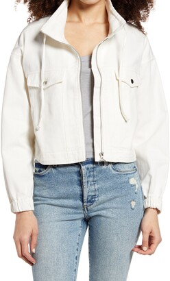 BP Crop Moto Jacket