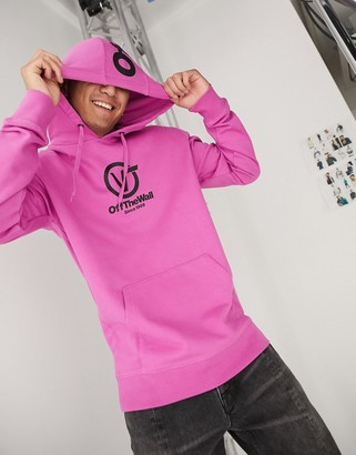 Vans Distorted Perform hoodie in rosebud