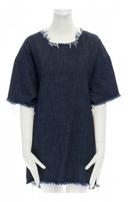 Marques Almeida Blue Denim - Jeans Dresses
