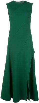 Oscar de la Renta Paneled Dress