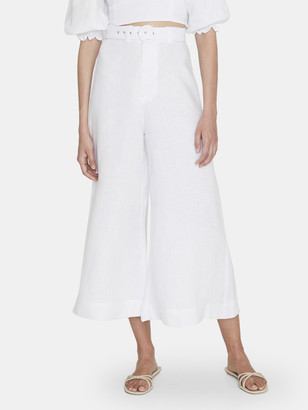 Faithfull The Brand Lissandra Wide Leg Linen Pants