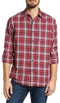 Grayers Winslow Slub Plaid Twill Sport Shirt