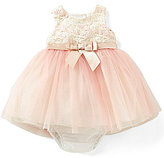 Rare Editions Baby Girls 12-24 Months Lace & Tulle Fit-and-Flare Dress